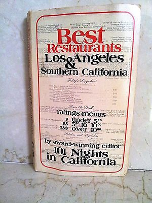 Best restaurants Los Angeles & Southern California 101 nights in California