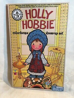 1975 HOLLY HOBBIE Colorforms...vintage...WOW (these look new!)
