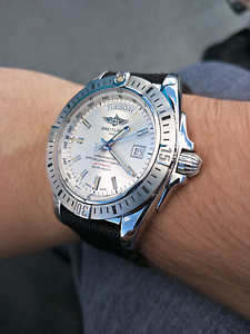 Breitling Galactic 44 Silver Dial Automatic Newington Auburn Area Preview