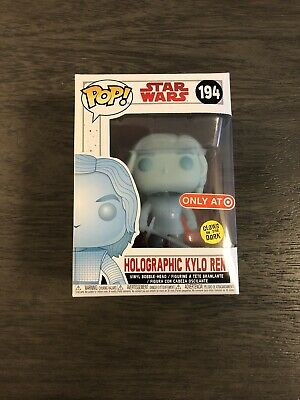 Funko Pop Star Wars Holographic Kylo Ren 194 Target Exclusive