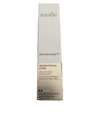 Babor Skinovage PX Sensational Eyes Anti Wrinkle Eye Cream 0.5oz/15ml NEW IN BOX