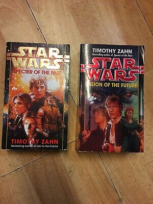 Star Wars Books x2 Vision of the Future and Specter of the Past Timothy Zahn