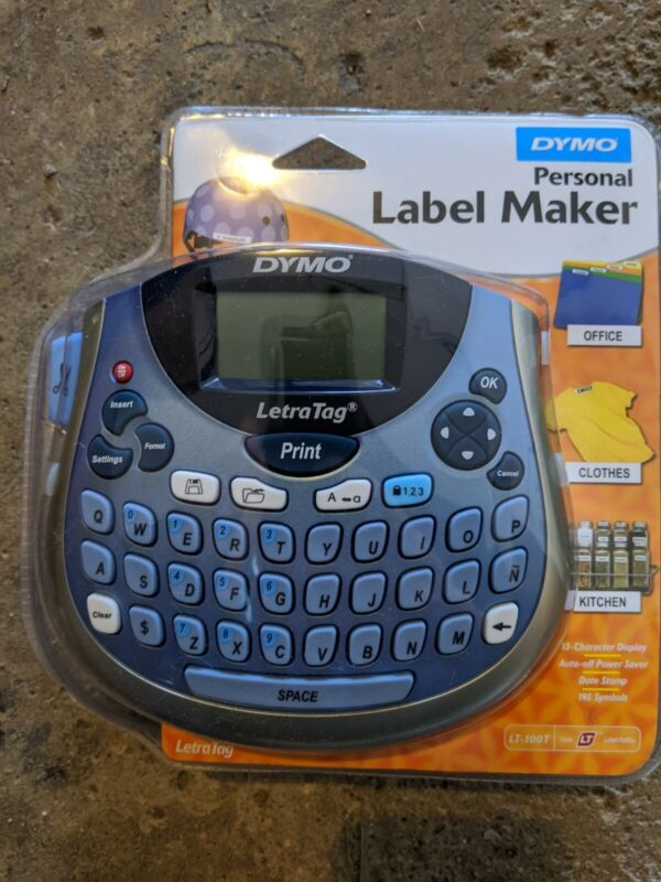 New DYMO LetraTag LT-100T Personal Label Maker Portable New & Factory Sealed