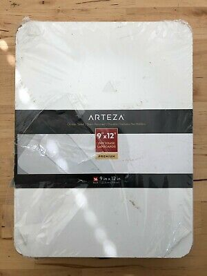 Set Of 16 Arteza Premium Small White Board Double Side Dry Erase Lapboards 9x12