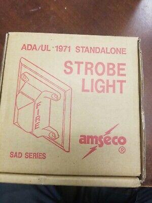 Amseco Sad-12l 12 Volt White Fire Strobe Light