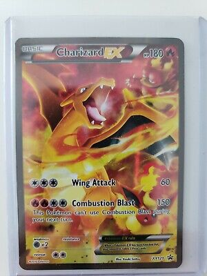 2016 PM XY Black Star Promo Charizard EX Red&Blue #XY121 Full Art Pokemon
