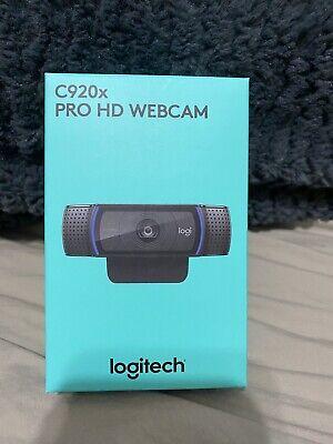 Logitech C920x Pro HD WebCam  ***NEW, FAST FREE SHIPPING****