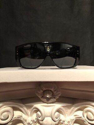 RARE Authentic Vintage Louis Vuitton Bindi Sunglasses Black W/ Peridot Gem (Louis Vuitton Female Sunglasses)