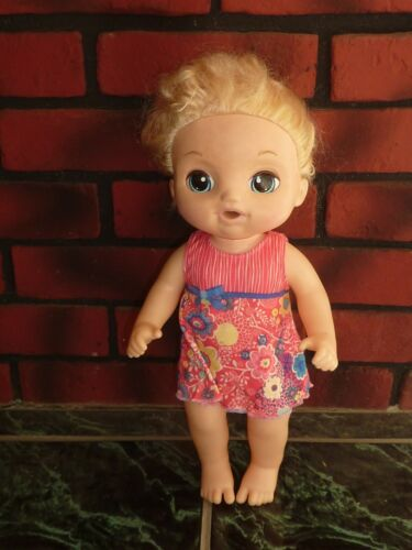 BABY ALIVE DOLL 2016 HASBRO SWEET TEARS INTERACTIVE CRIES EYES FACE CHANGE (K0)