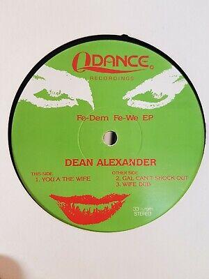 DEAN ALEXANDER - FE-DEM FE-WE EP - DUBTRONIX RAGGA JUNGLE 1994 - RARE