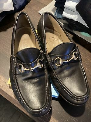 Mens Vintage Gucci Horsebit Loafers - Size 9