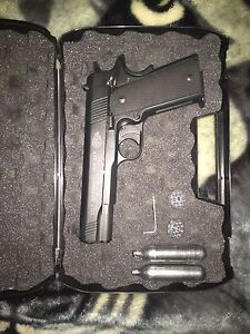 Colt 1911 A1, Full metal, Co2/pellet