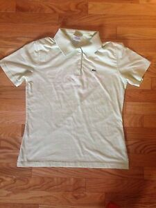 Light Green Girls Lacoste shirt (10-13 years old)
