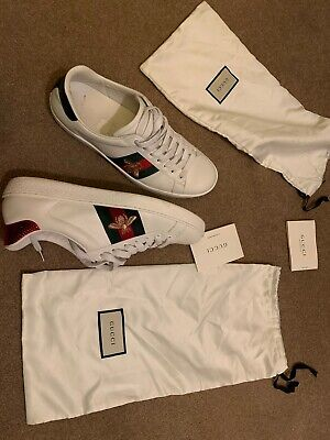 Gucci Ace Bee Men's trainers size 9 Genuine