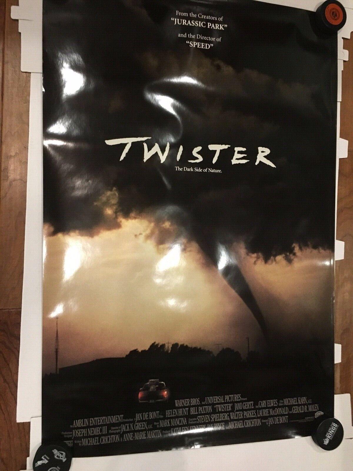 "Twister Original Movie Release 27x40"" Movie Poster 2S"