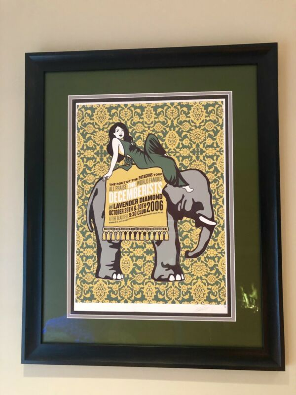 The Decemberists Poster (Rare)