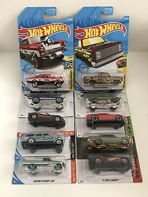 Hot Wheels Chevrolet Lot Of 10pcs Zamac Target Walmart Detroit Muscle