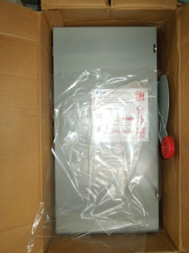 Eaton Dh363ugk Heavy Duty Non-fusible Safety Switch 100a 3w 600v Type 1 Encl New