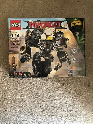 LEGO 70632 Ninjago Movie Quake Mech, Brand New in Sealed Box.