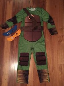 Ninja turtles costume age 7-8 Henley Beach South Charles Sturt Area Preview