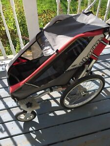 Chariot single stroller
