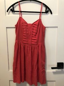 BCBGeneration coral fit and flare dress