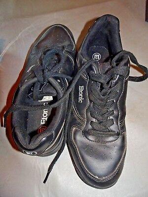 Bowling Schuhe Etonic schwarz Gr. 40 stabil solide Kegeln Sport top erhalten