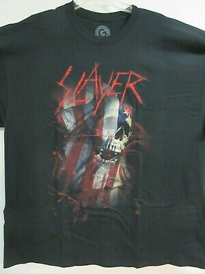 NEW - SLAYER BLOOD FLAG BAND / CONCERT / MUSIC T-SHIRT 2XL / X X LARGE (Blood Flag)
