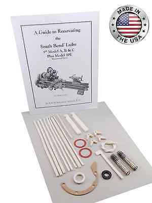 South Bend Lathe 10k - Rebuild Manual And Parts Kit Light 10