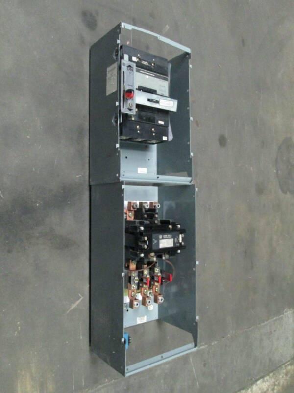 "Square D Model 5 Size 5 Breaker 600 Amp MCC Motor Control Bucket MHL36600 50"""