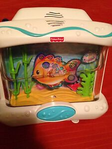 Fisher Price ocean wonders aquarium with remote control