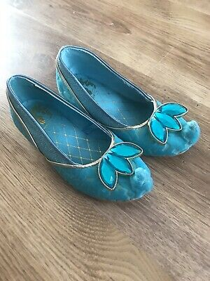 Disney Store Princess Jasmine Shoes Size Junior 7-8
