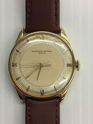 Vacheron & Constantin Genève 18K 17 Jewel Swiss Wind-Up Wristwatch