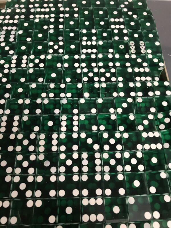 Green Casino Scrap Dice