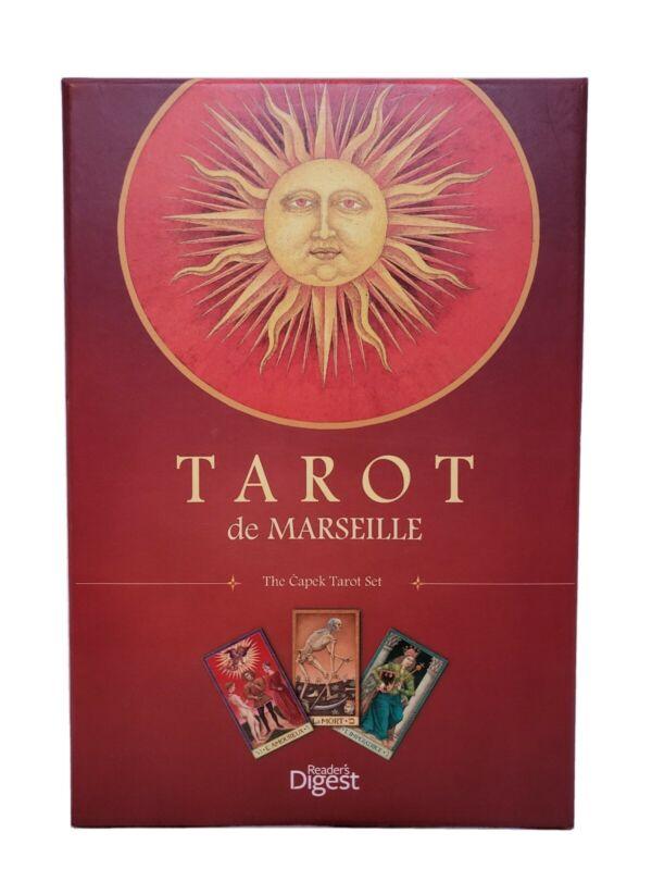 Tarot De Marseille: The Capek Tarot Set - Book & Deck Set by Reader