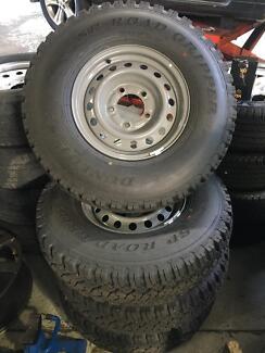 New tyres land cruiser 79 series
