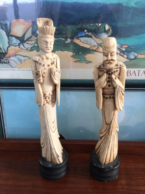 Bovine Bone Carved Chinese Emperor S Court Figurines Vintage 47 Antique Other Antiques Art Collectables Gumtree Australia Queanbeyan Area Googong 1257216767