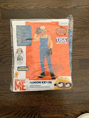 HALLOWEEN COSTUME MINION KEVIN CHILD COSTUME DESPICABLE ME SIZE Medium