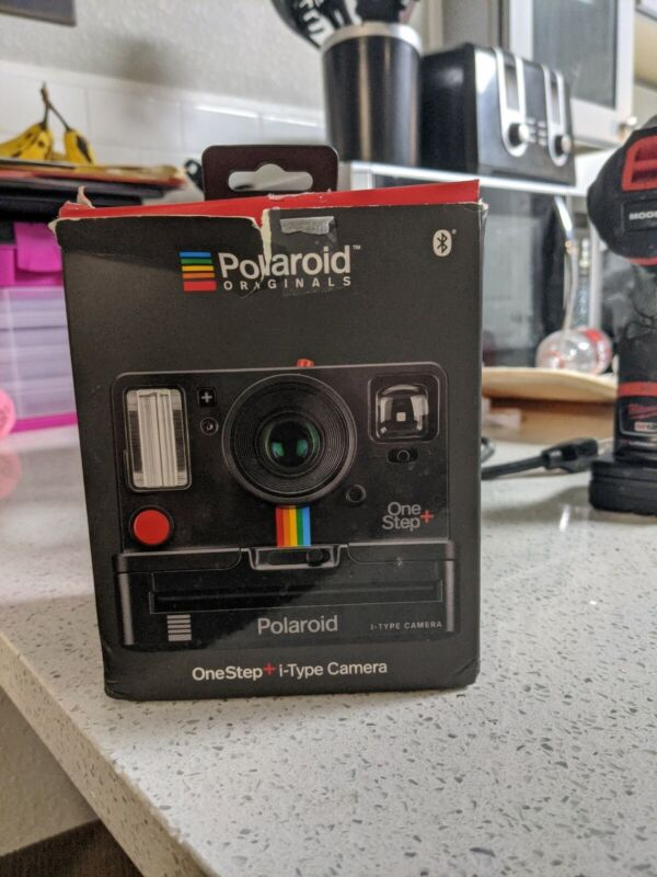 Black Polaroid One Step Plus i-Type Style Instant Camera