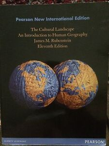 The Cultural Landscape An Introduction To Human Geography Beecroft Hornsby Area Preview