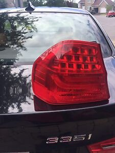 BMW  335 xdrive 2009 left tail light