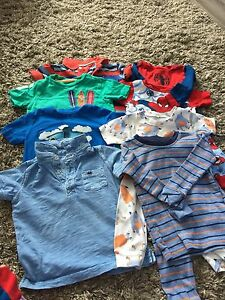 Boys clothing size 18mo-2T( see additional pics)