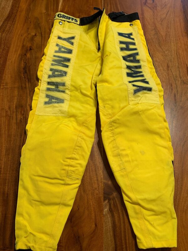 Vintage Griffs Yamaha Motocross Racing Pants