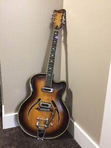 1970 Musima Record 17 with upgrades
