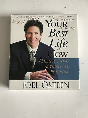 Your Best Life Now Audio Book on 5 CD set read by the author Pastor Joel