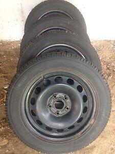 VW snow tires