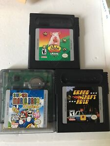 Game Boy Game babe and friends