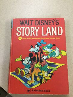 Vintage Walt Disney Book