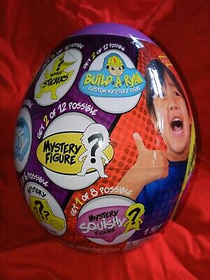 BRAND NEW RYAN'S WORLD SERIES 3 GIANT PURPLE MYSTERY EGG! BONKERS TOY COMPANY