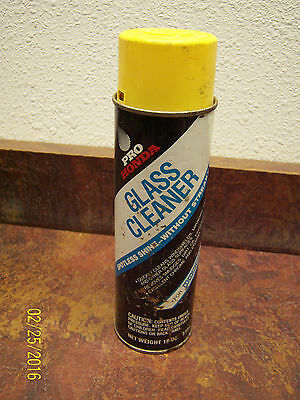 Vintage Honda Auto Glass Cleaner Metal Can 18 oz
